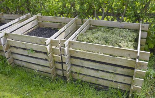 compostiera da giardino
