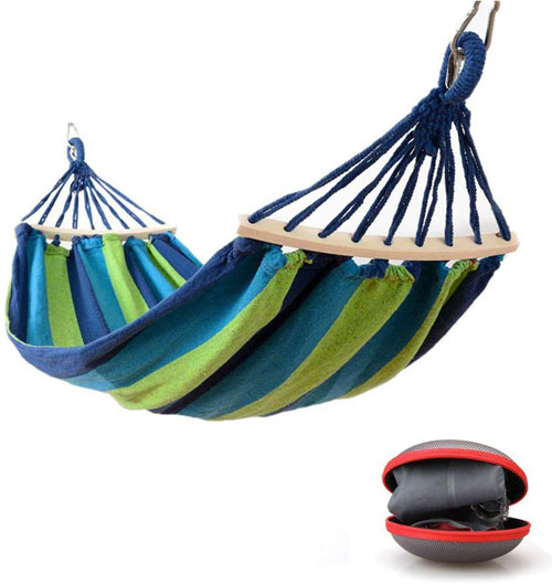 amaca doppia in seta da paracadute, 300 x 170 cm, portata fino a 200 kg con gancio Appeso