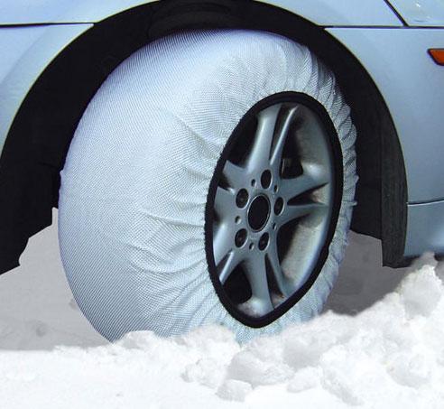 calze da neve per auto