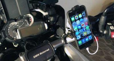 supporto porta smartphone per moto