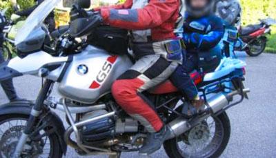 seggiolino per moto
