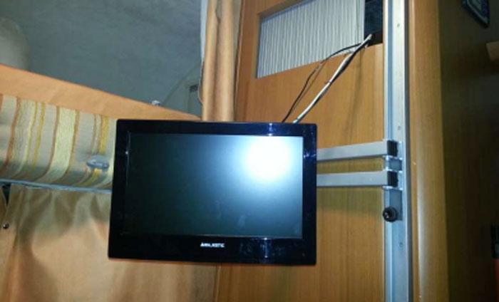 tv per camper