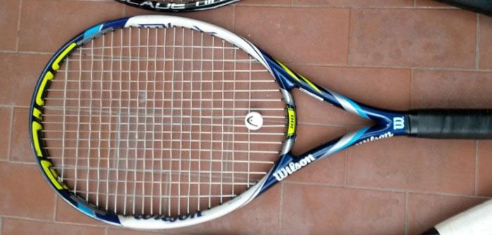 antivibrazione racchetta da tennis