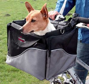 cesta da bici per cani