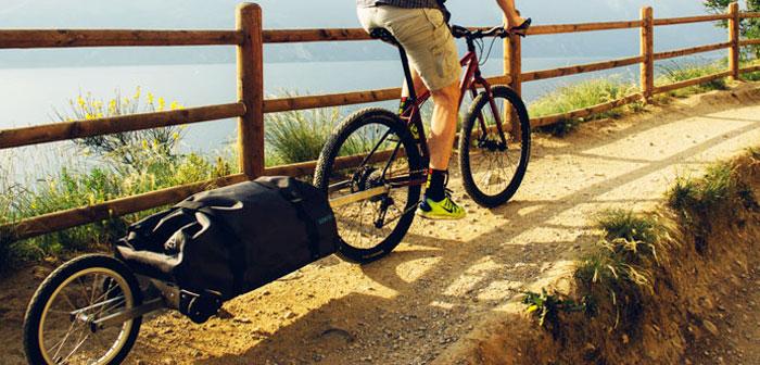 rimorchio portatutto per bici