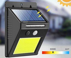 solar power light faretto a energia solare