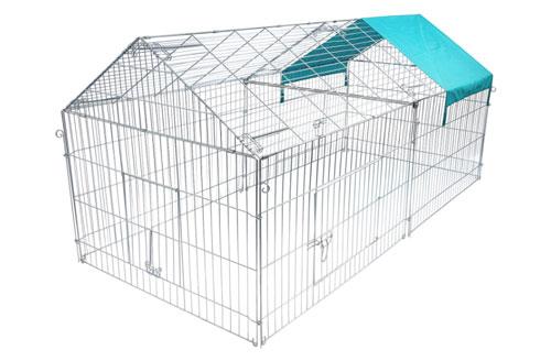 recinto per conigli migliore