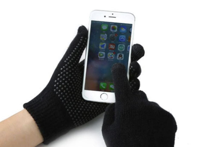 guanti invernali touchscreen
