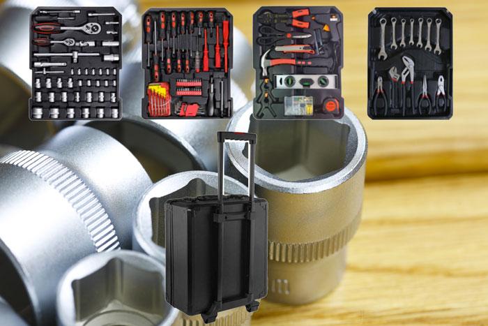 multi tool kit trolley per attrezzi