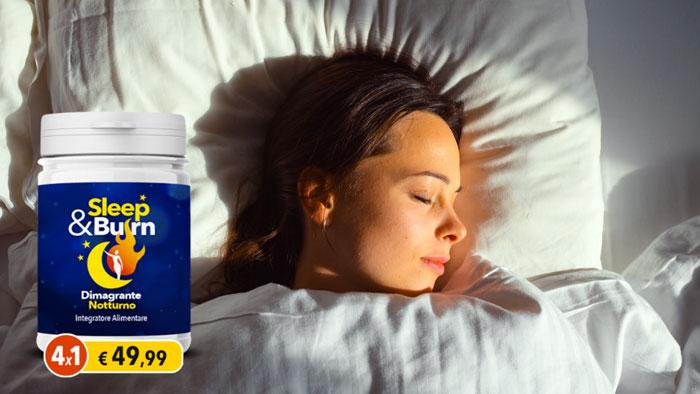 sleep e burn integratore dimagrante notturno