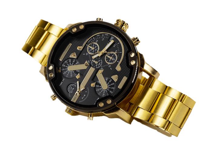 golden watch orologio uomo