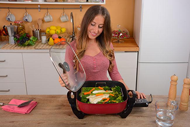digital cooker padella elettrica