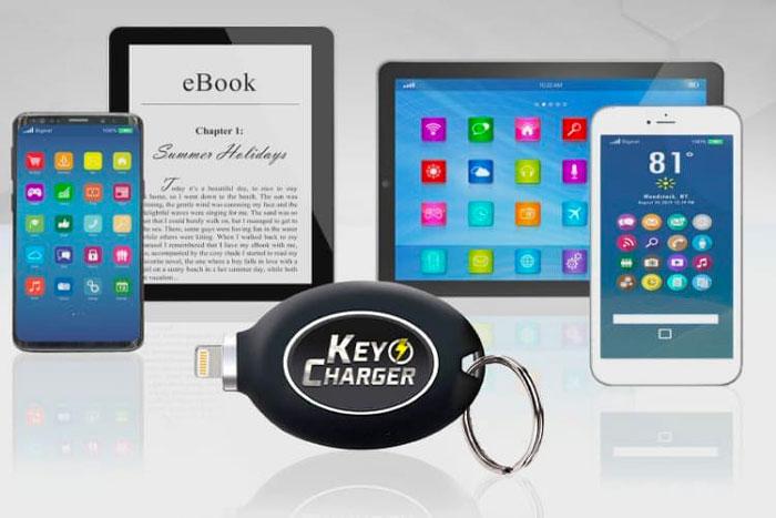 key charger mini power bank