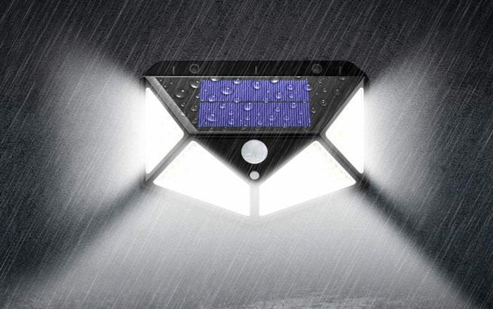 solar power 100 led