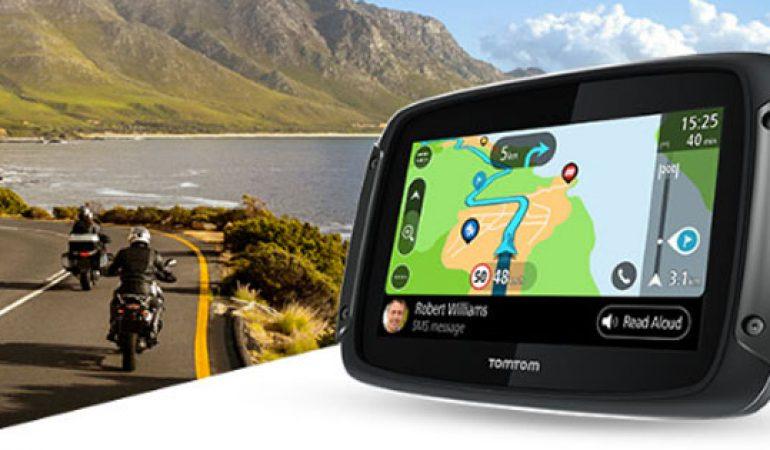 Europa Occidentale TomTom Rider 40 GPS per Moto Nero//Antracite