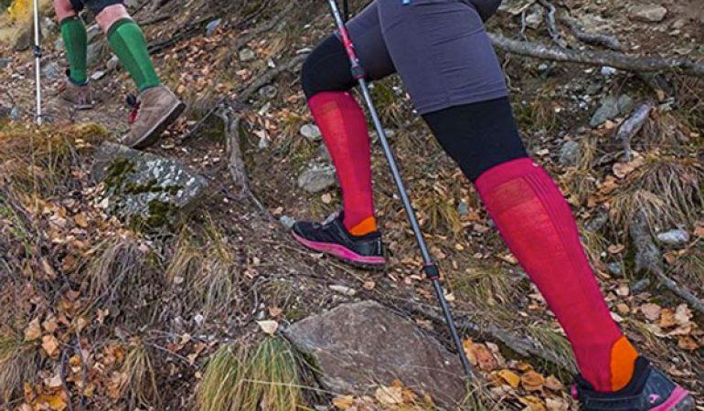 Tobeni 2 Paio Calze Sportive High-Tech da Trekking Calzini Funzionali per Donna e Uomo
