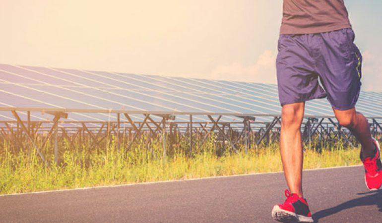 Uomo Luanvi Gama Pantaloni Corti da Running