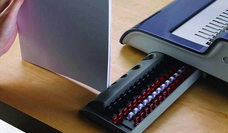 2 kit per rilegatrice 25 copertine e coste a spirale incluse Pavo Smartmaster